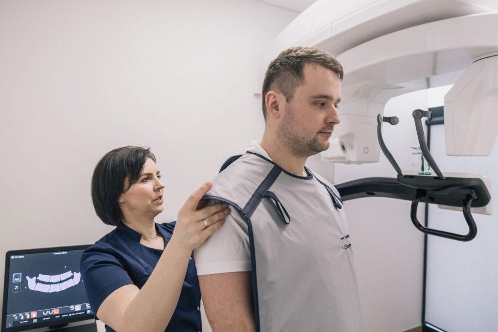 RTG zęba tomografia stomatologiczna 3D