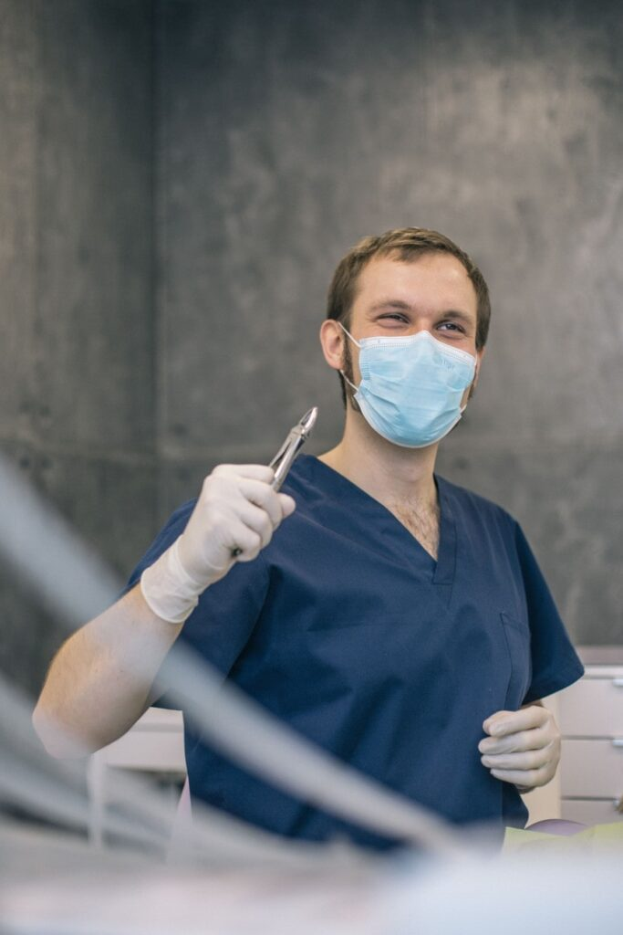 chirurg usuwanie ósemek