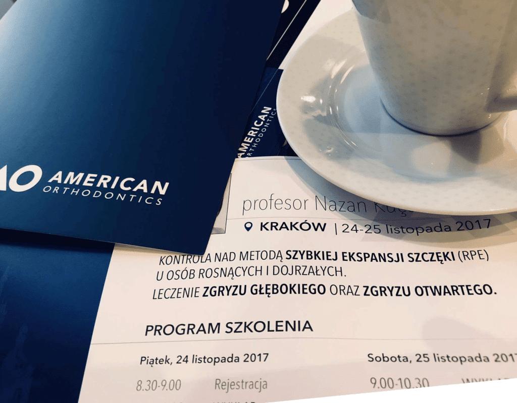 Ortodoncja szkolenie - pozdrowienia z Krakowa